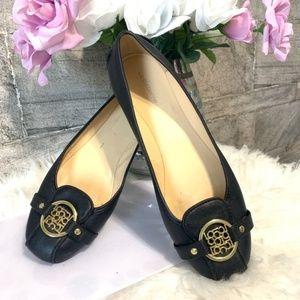 Liz Claiborne Iris Ballet Flats Black Size 7M
